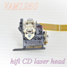 2pieces / New and original VAM1250 Gold Contact surface  Optical Pick UP Service Assembly VAM-1250 HiFi CD Laser Lens