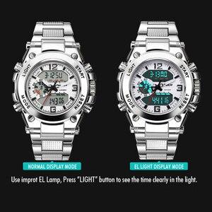 Image 4 - الرجال أفضل العلامة التجارية الفاخرة الرقمية ساعة Relogio Masculino جديد الرياضة ساعة الرجال 2018 ساعة الذكور LED الرقمية ساعات يد كوارتز