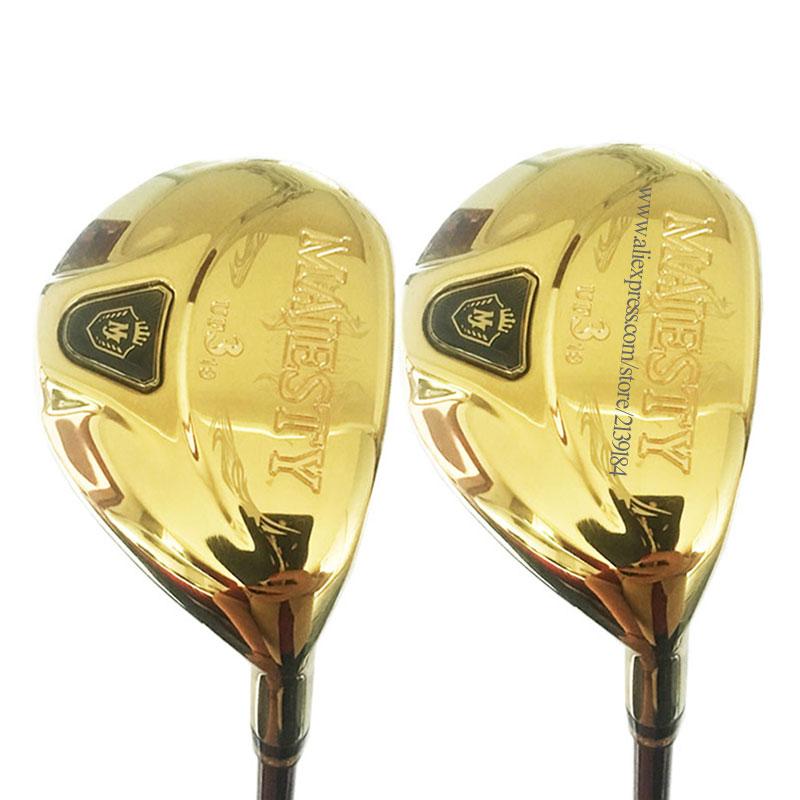 New Golf Wood Maruman Majesty Golf Hybrids 2/16 Or 3/19 4/22 5/25 Golf Clubs Graphite Golf Shaft Headcover Cooyute Free Shipping