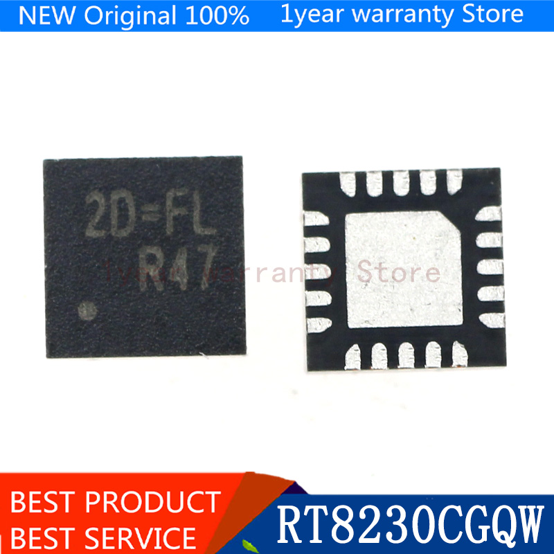 {Новый оригинальный} 3 шт. RT8230CGQW RT8230C (2D = FC 2D = EF 2D =...) QFN-20
