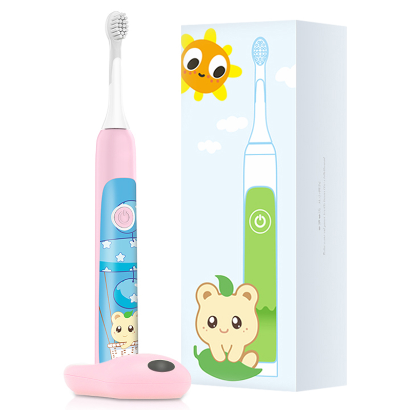 Aiwejay SO WHITE Sonic Electric Toothbrush Wireless Induction Charging IPX7 Waterproof Children's Electric Toothbrush