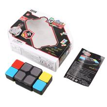 4 Game Modes Magic Cube Flip Slide Cube Puzzle Toy with Light Speed Level Memory Multiplayer Modes Electronic Education Toys(China)