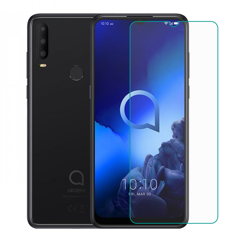 Tempered Glass For Alcatel 3X (2019) 5048U 5048Y GLASS 9H Protective Film Explosion-proof Clear Screen Protector Phone Cover