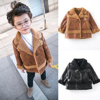 Boys winter  Coat Children Kids Winter Thick warm  Jackets Baby Boys Clothes Warm Boys Clothing Outwear 0-6t