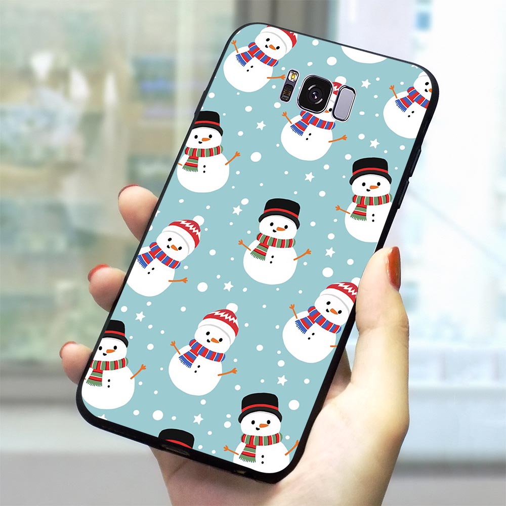 Christmas New Year Phone Cover for Samsung Galaxy S6 Case S7 Edge S8 S9 S10 Plus S10e Note 8 9 M10 M20 M30 Soft TPU