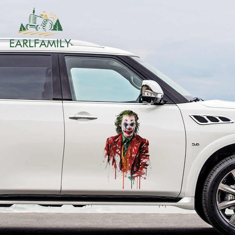 EARLFAMILY-autocollants et décalcomanies de voiture en vinyle, pour peinture Joker, 43cm x 24.2cm, décoration étanche
