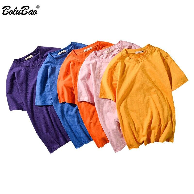 BOLUBAO брендовая мужская футболка, новая мужская простая уличная стильная футболка, модная футболка с коротким рукавом|Футболки|   | АлиЭкспресс