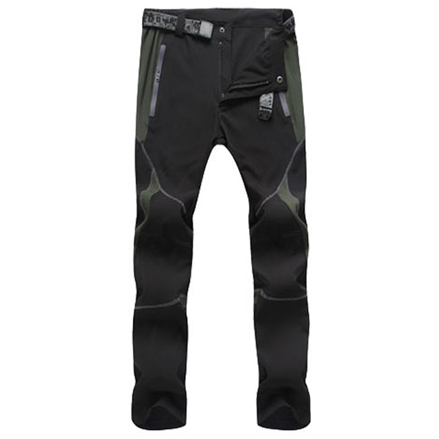 Summer Hiking Pants for Men Quick Drying Outdoor Workwear Men Clothing Color Stitching Climbing Pantalon Windproof Men's Pants 3
