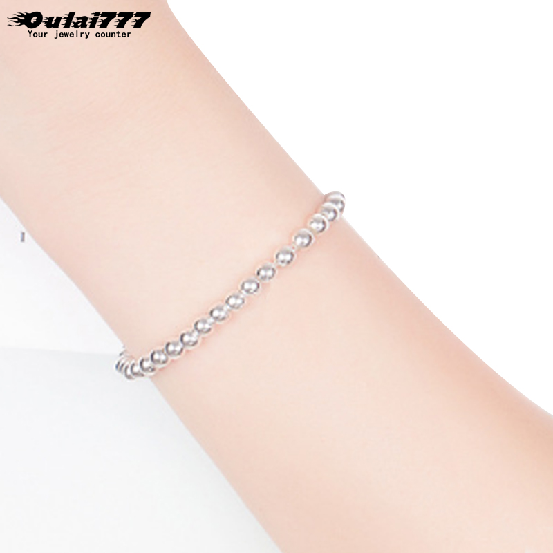 oulai777 beads bracelets women stainless steel male accessories original charm personalized bracelet men 2019 fasion jewellery
