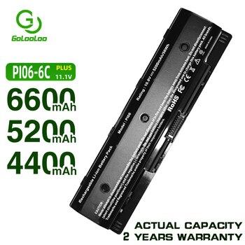 Golooloo 6 cell Laptop Battery for HP PI06 P106 PI09 HSTNN-LB4N HSTNN-YB4N HSTNN-LB4O for HP Envy 14 15 17 HSTNN-UB4N 710416-001 аккумулятор topon top nx7400 10 8v 4800mah для pn pb992a hstnn ub11 hstnn ob06 hstnn lb11