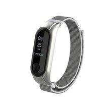 Stylish and comfortable nylon NATO strap replacement case set sports wrist ring for XIAOMI MI belt 3 bracelet