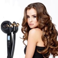 Automatic Hair Curler Magic Curling Iron LCD Display