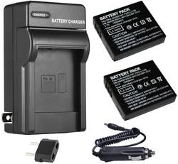 LB-080, Battery + Charger for Kodak PIXPRO SP1, SP1-YL3, SP360, SP360 4K, PIXPRO ORBIT360 4K, 4KVR360 VR Digital Action Camera