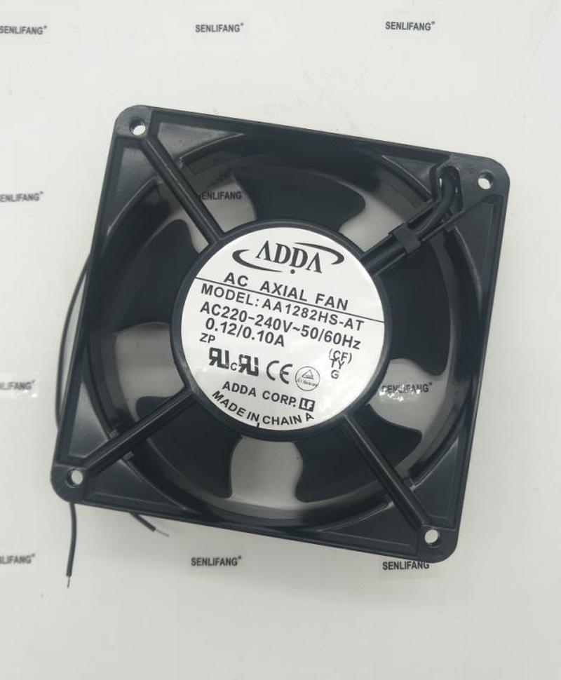 For ADDA AA1282HS-AT Server Cooling Fan AC 220-240V 50/60Hz 2-pin