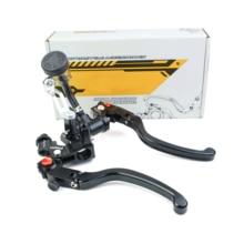 Evrensel 22mm 7/8 motosiklet fren debriyaj radyal montaj pompası ana silindir levrek hattı debriyaj kolu Cafe Racer için Nanja 400R