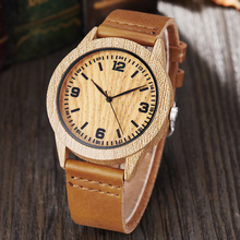 Trending Products 2020 Fashion Men Wristwatches Imitation Wood Watches