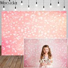 Mocsicka фон для фотосъемки на День святого Валентина Свадебный