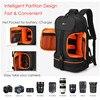 Video Waterproof Camera Shoulders Backpack w Reflector Stripe fit 15 6 inch Latptop Shockproof Soft Padded Tripod Case Photo Bag discount
