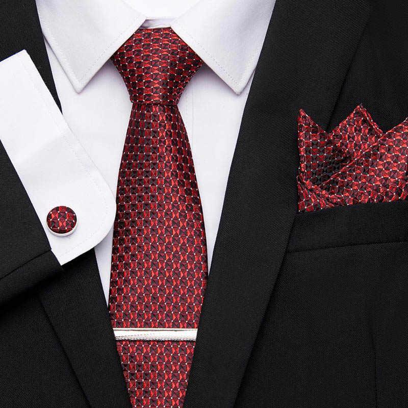 Einschränkungen Meer Karotte  Corbata pañuelo gemelos, conjunto de Clips para corbata para hombre,  corbatas de fiesta Formal, boda, para hombre, corbata Floral, 100% de seda,  regalo de Jacquard de negocios|Corbatas y pañuelos de hombres| -