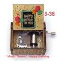 Музыкальная шкатулка на день рождения, музыкальная шкатулка в стиле Qute для детей, мальчиков, девочек, дочери, сыновей, подарок на день рожден...