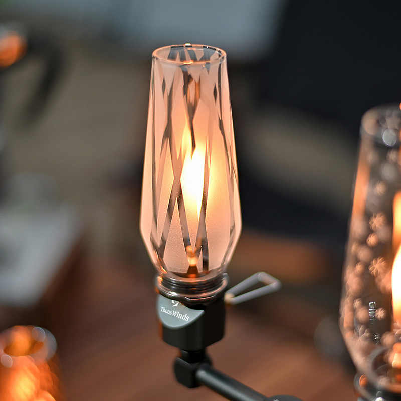 Thous Winden Kleine Lamp Nocturne Gas Lantaarn Camping Lamp Draagbare Gas Lamp Tent Night Lights