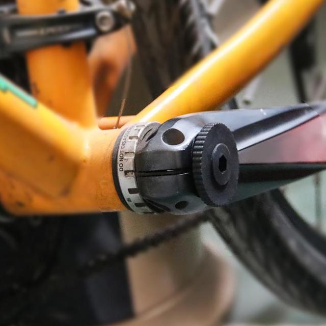 Bicicleta de Montaña bicicleta de carretera eje central desmontaje llave del eje herramienta de reparación adecuada para la instalación del eje central BB W @