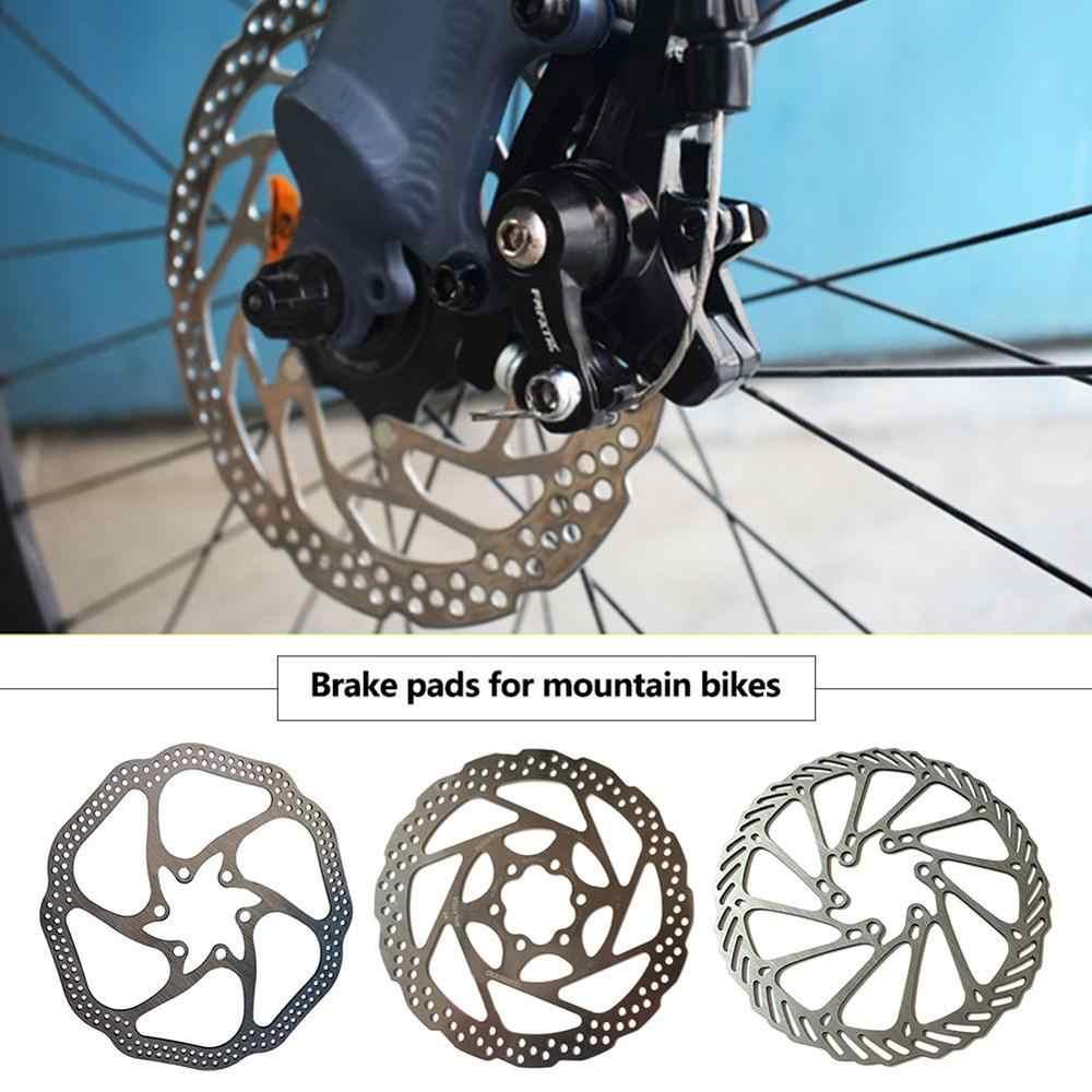 1 ชิ้น 6 สลักเกลียวสแตนเลสจักรยานโรเตอร์ Fit สำหรับ MTB BMX จักรยานอุปกรณ์เสริมจักรยาน 160 มม.แผ่นเบรคโรเตอร์
