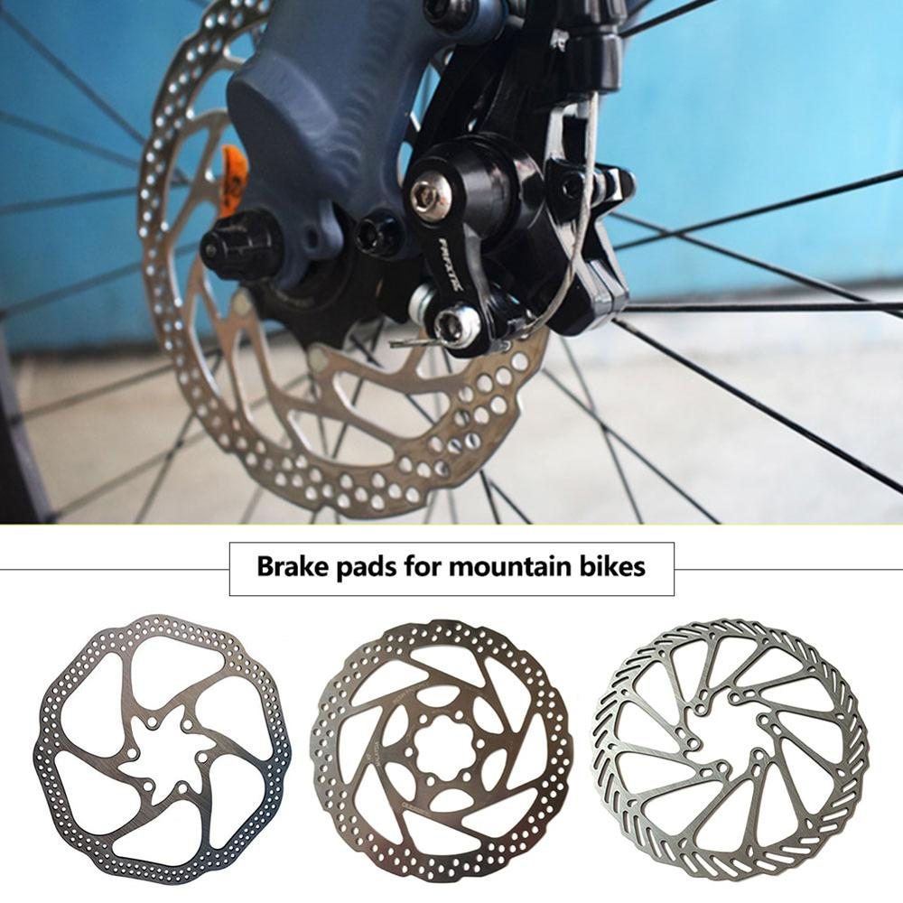 1 Piece 6 Bolts Stainless Steel Bicycle Rotors Fit for Road Bike MTB BMX Bicycle Accessories 160 mm Bike Disc Brake Rotor