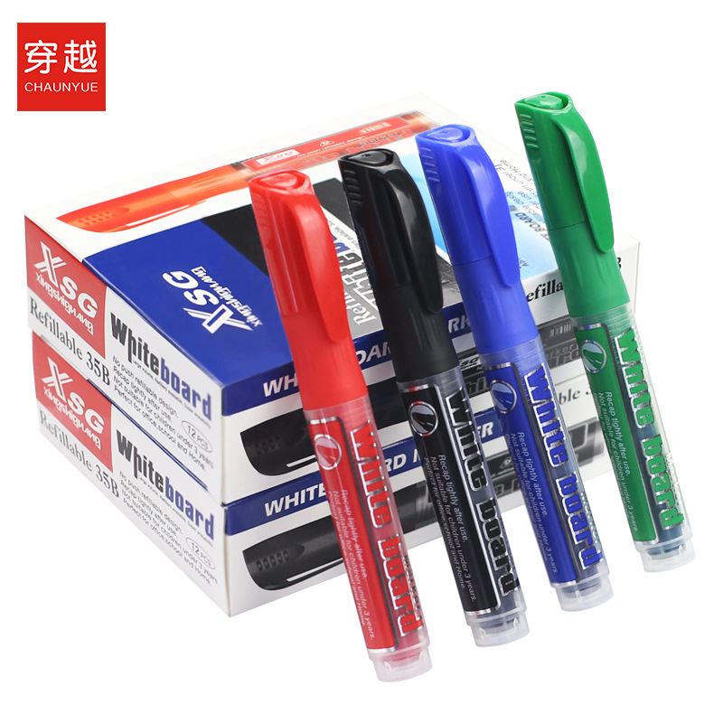 Whiteboard Pen Ink Can Be Wipable Write Hei Ban Bi Environmentally Friendly Non-toxic Water-based Paint Pen Changeable Pen Cartr