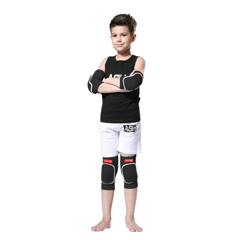 4pcs/Set Knee Pads Elbow Pads For Children Kids Fitness Dancing Football Basketball Cycling Support Play Sports Protector