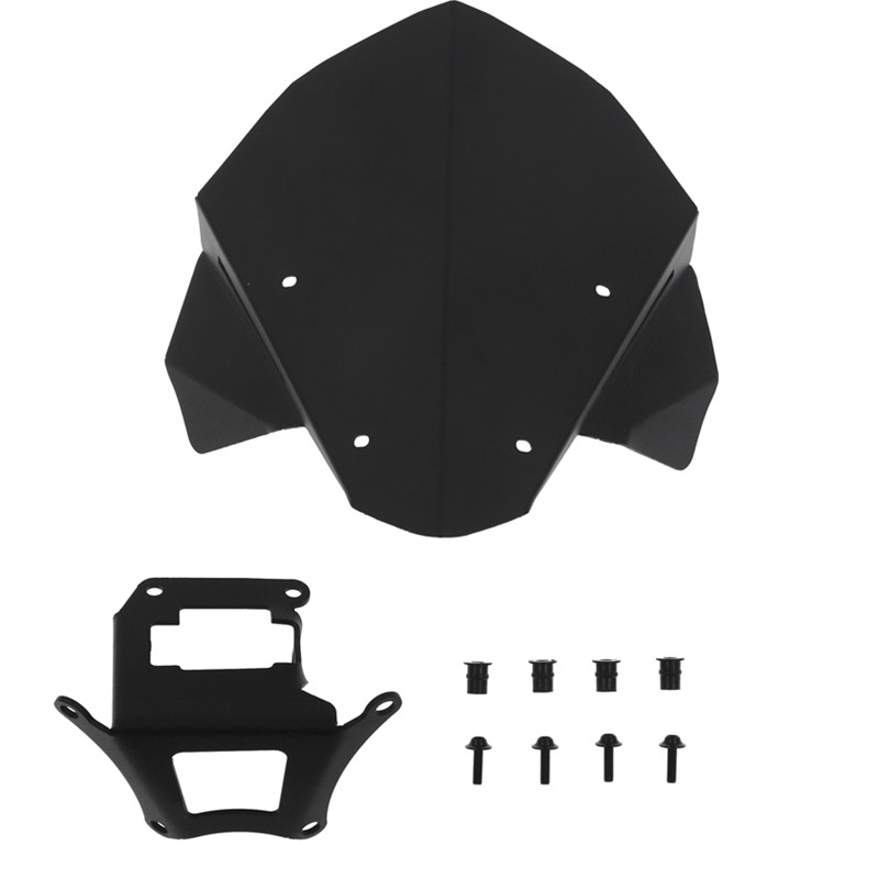 MTK RACING motorcycle aluminum fittings small windshield for HONDA CB650R cb650r 19 CB 650R 2019 in Covers Ornamental Mouldings from Automobiles Motorcycles