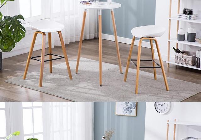 Bar Table & Chair Set 4