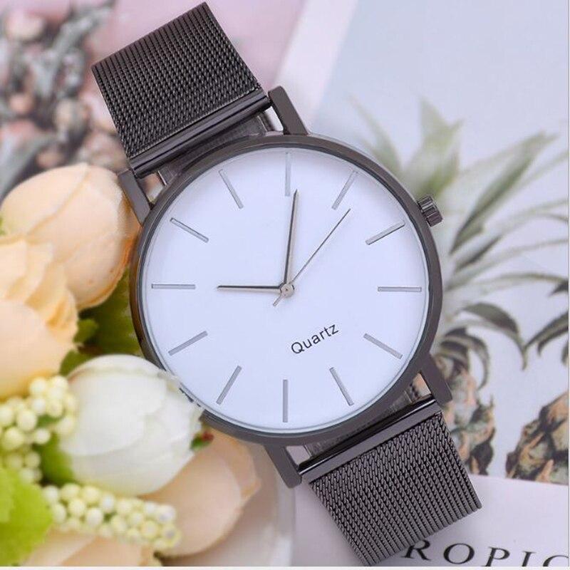Watches Women Watch Simple Fashion Wild Dial Quartz Watch Fashion Women Watch New Watch Milan Strap Reloj Mujer Relogio Feminino