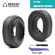 Almofadas de ouvido almofada earmuffs para sony MDR HW700 MDR HW700DS fones de ouvido sem fio