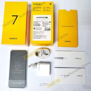 realme 7 NFC 6.5'' FHD+ 6/8GB 64/128GB 48MP Quad Cams Smartphone Helio G95 Octa Core 30W Dart Charge 5000mAh Mobile Phone 2