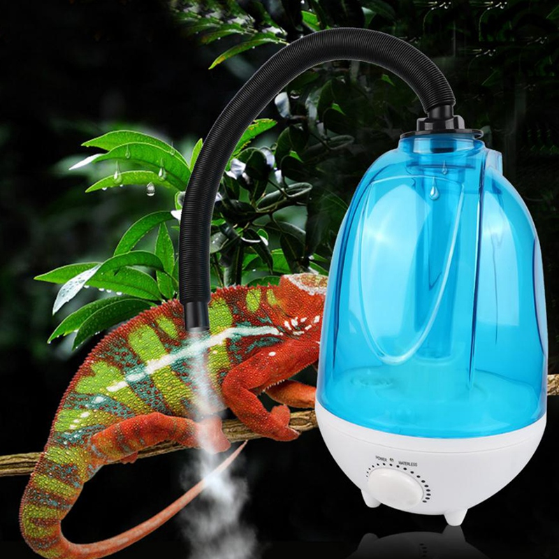 3L Amphibians And Reptile Humidifier Reptile Fogger Extension Tube For Terrarium