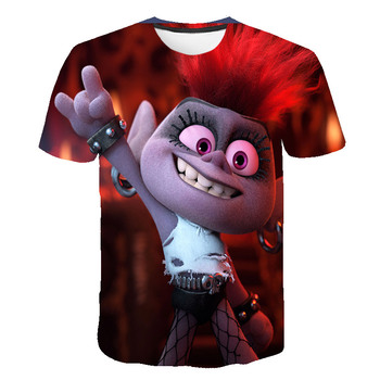 2020 new men's interesting Harajuku printed T-Shirt NEW summer clothes fluffy sprite teenage girls T-shirt for men image