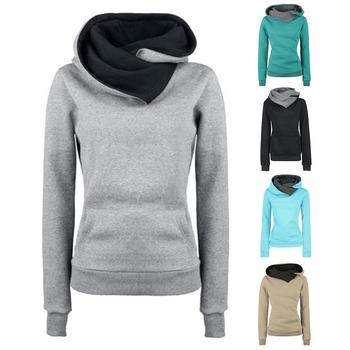 Casual Women's Autumn Winter Long Sleeve Sweatshirt Warmer Fleece Pullover Hooded NEW