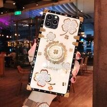 Coque de téléphone de luxe avec anneau en diamant pour Xiaomi, étui pour Redmi Note 9S 8 9 Pro MAX 9A 9C Mi 10T Lite Mi10TLite 10TLiteCase Redmi9