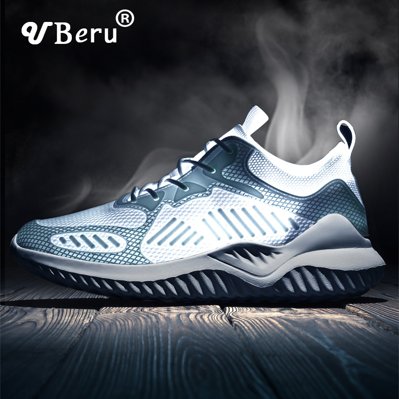 UBERU2020 New Casual Sports Shoes For Men And Women Wild Breathable Large Size Mesh Running Shoes Outdoor Jogging Casual Shoes