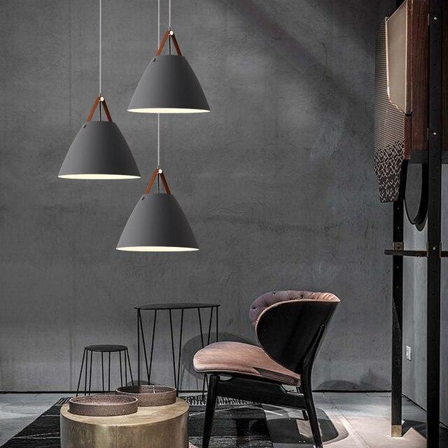 Led restoran avize modern minimalist İskandinav yaratıcı kişilik bar kahve dükkanı endüstriyel rüzgar masa sanat aydınlatma armatürü