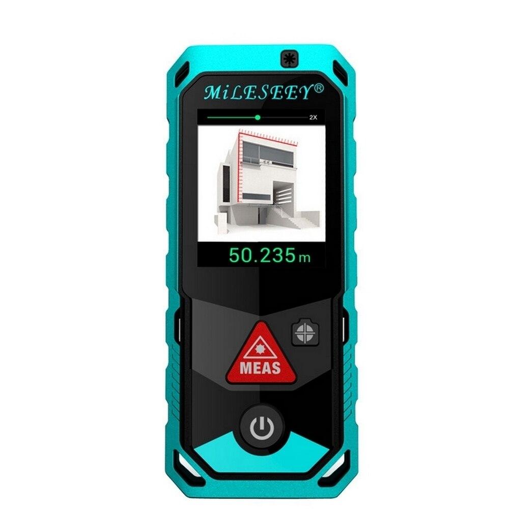 P7 Bluetooth Laser-entfernungsmesser Kamera Finder Punkt Rotary 80 m/100 m/150 m/200 M Touch bildschirm Recharger Laser Abstand Meter