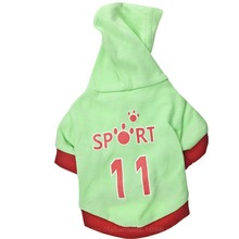Clothing Pet-Outfits T-Shirt Dogs Small for Cute Letter Spring Green Yorkies Ropa Para