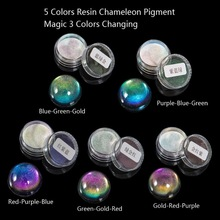 Pigment-Mirror Jewelry-Making-Kit Pearl Rainbow Epoxy Resin Magic-Resin Chameleons Powder-Colorant