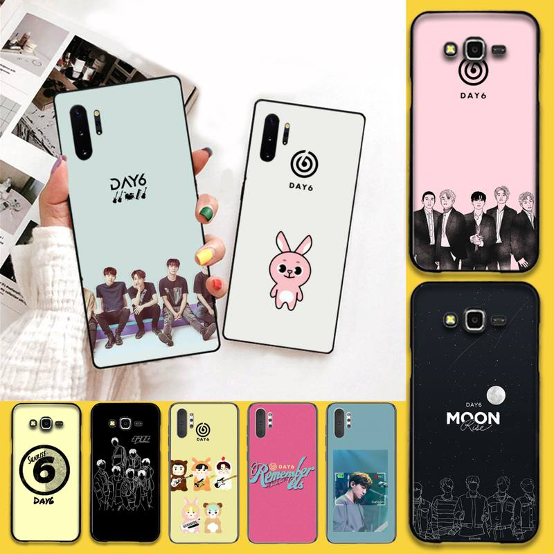 CUTEWANAN <font><b>kpop</b></font> day6 <font><b>Coque</b></font> Shell Phone Case For <font><b>Samsung</b></font> Note 7 8 9 10 pro Galaxy J7 J8 <font><b>J6</b></font> <font><b>Plus</b></font> 2018 Prime image