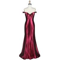 Best Selling Ladies Long Evening Dress 2019 Summer Autumn and Winter Beautiful Elegant Silk Dress Sexy Secret Party Dress