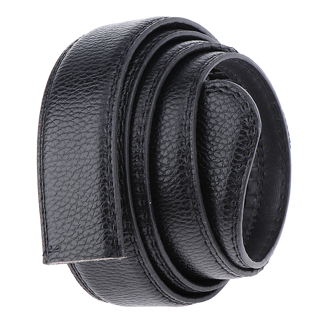 Belt For Men Automatic Male Dress Belt Strap Waistband, 36mm, Without Buckle  No Buckle Belt Body Strap Black Man Belt
