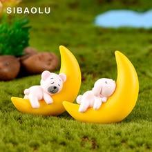 Animal Figurine Cake Miniature Fairy Dollhouse Garden-Decoration-Accessories Rabbit-Model