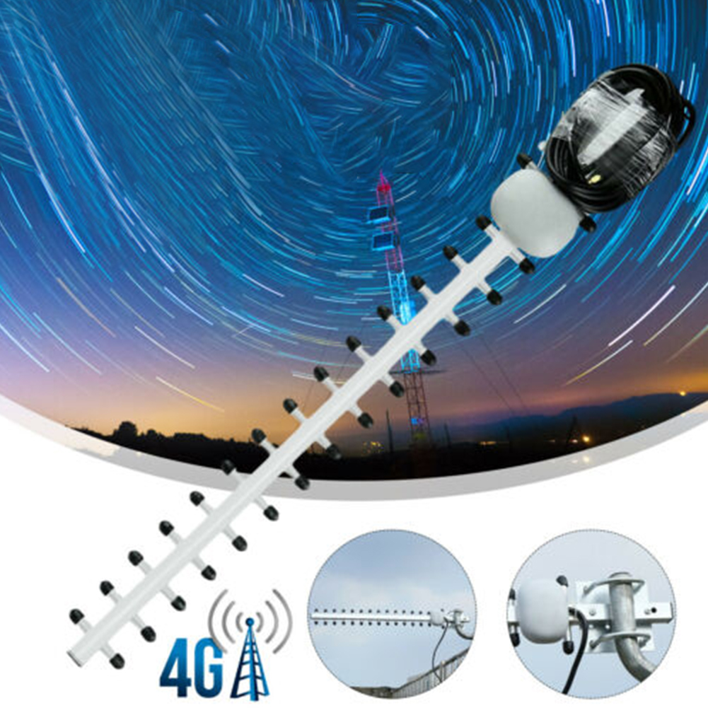 WIFI Signal Booster 4G 25dBi High Gain Outdoor WiFi Antenna Aerial Antenna SMA Male Directional Antenna Amplifier Yagi Antenna