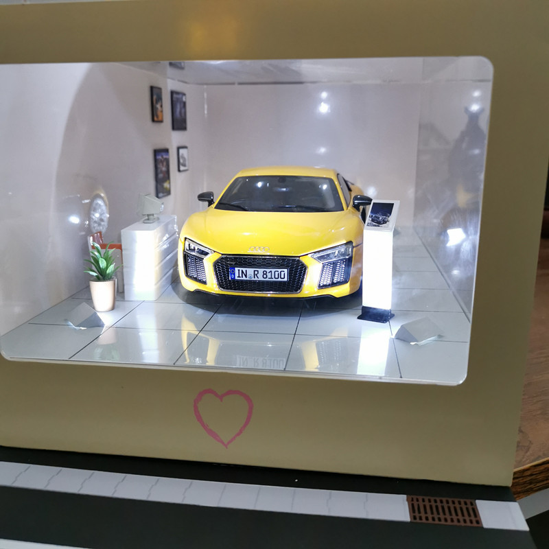 1:18   High Simulation Creative Car Model For Initial D Scene Dustproof Display Box To Send A Boyfriend's Birthday Gift
